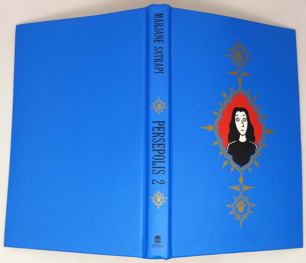 Persepolis 2: The Story of a Return - Marjane Satrapi 2004 | 1st Edition