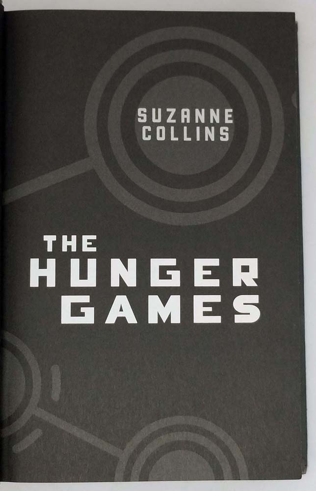 Hunger Games - Suzanne Collins 2008   1st Edition