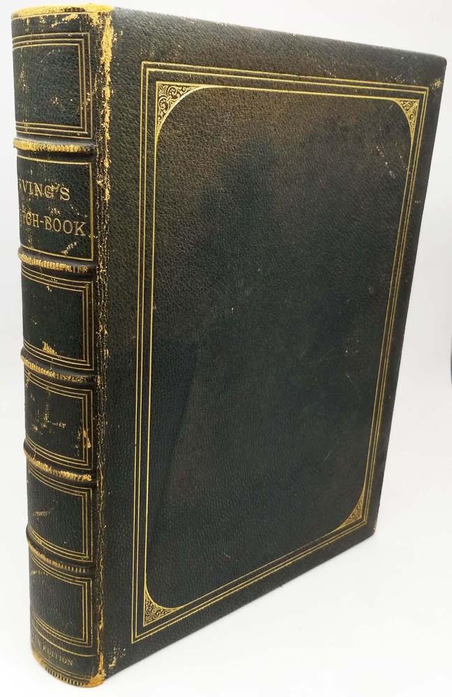 Sketch Book of Geoffrey Crayon Gent - Washington Irving 1865   1st Edition