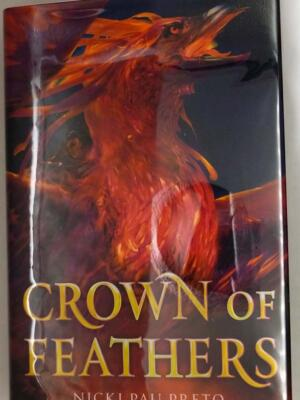 Crown of Feathers - Nicki Pau Preto 2019   1st OwnCrate Edition SIGNED