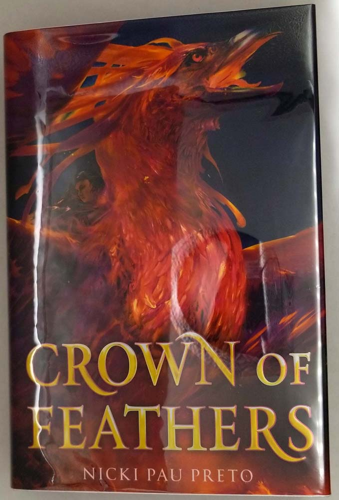 Crown of Feathers - Nicki Pau Preto 2019 | 1st OwnCrate Edition SIGNED