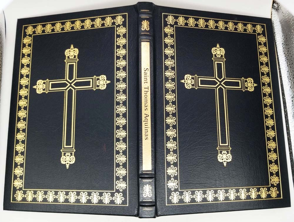 Saint Thomas Aquinas - George N. Shuster   Easton Press 1995