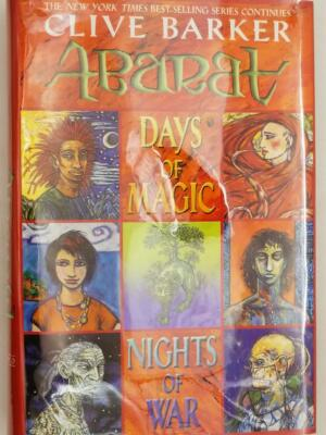 Days of Magic, Nights of War: Abarat, Book 2 - Clive Barker 2004 | 1st edition