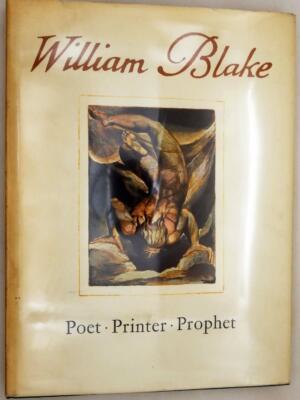 A Study of the Illuminated Books of William Blake - Geoffrey Keynes 1964 | 1st Edition