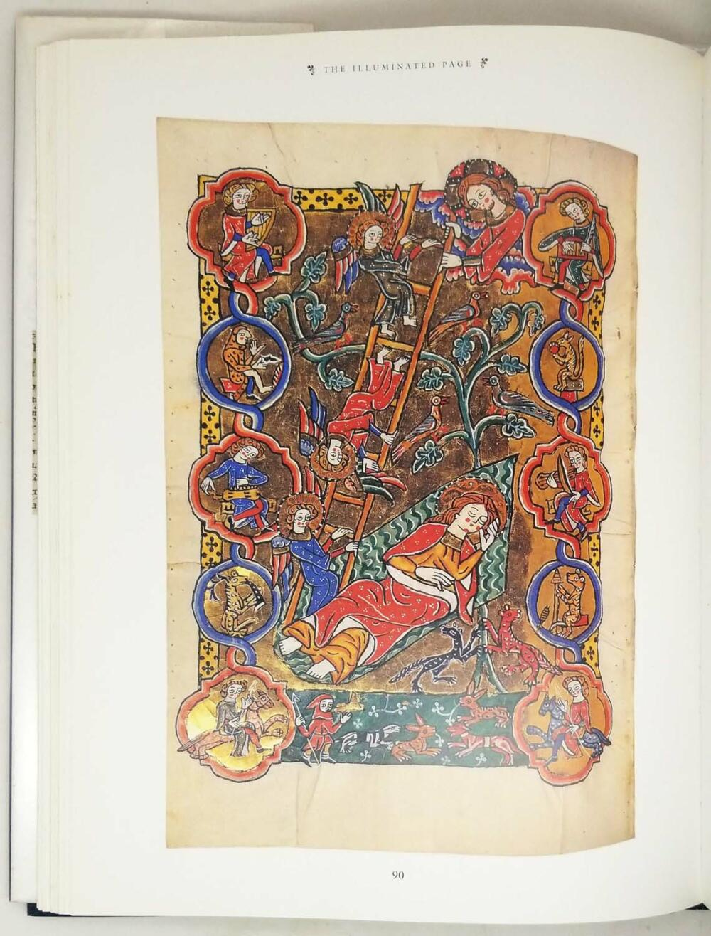 The Illuminated Page: Ten Centuries of Manuscript Painting in The British Library - Janet Backhouse 1997