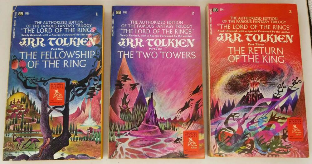 Lord of the Rings - JRR Tolkien Authorized Edition PB Box Set 1966