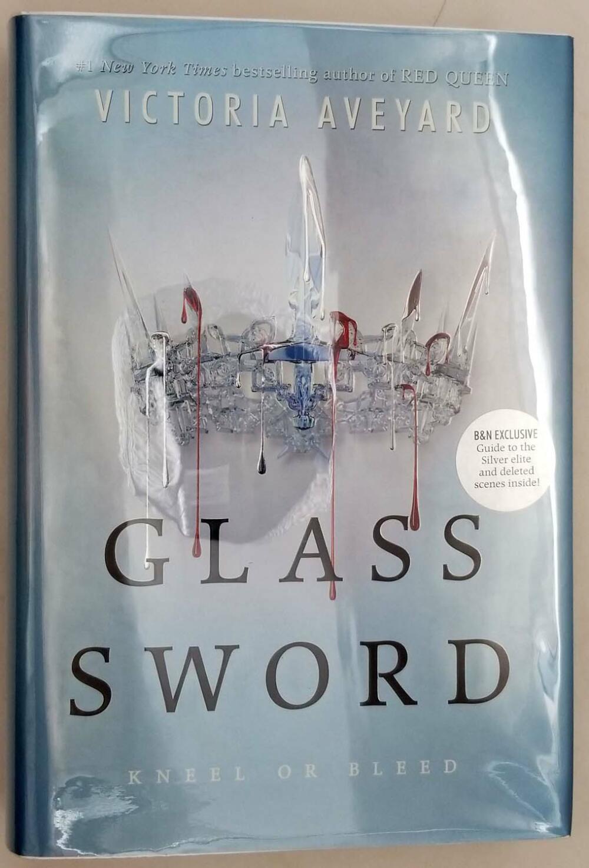 Glass Sword - Victoria Aveyard 2016   1st Edition