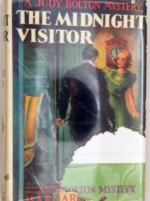 A Judy Bolton Mystery - The Midnight Visitor #12 Margaret Sutton 1939