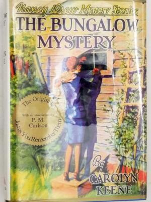 Nancy Drew - The Bungalow Mystery, Applewood Facsimile 1991