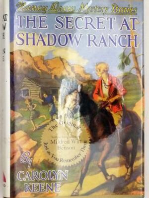 Nancy Drew - The Secret At Shadow Ranch, Applewood Facsimile 1994
